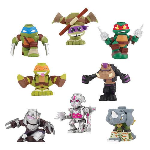 Teenage Mutant Ninja Turtles Wave 1 2.75 inch Stackable Vinyl Figures Set
