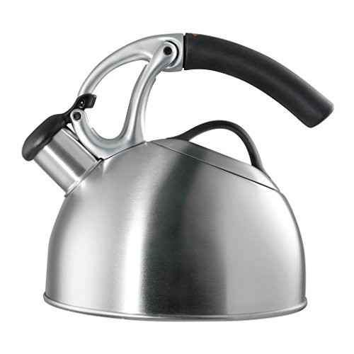 OXO Good Grips Uplift Tea Kettle, Brushed Stainless Steel [Brushed]