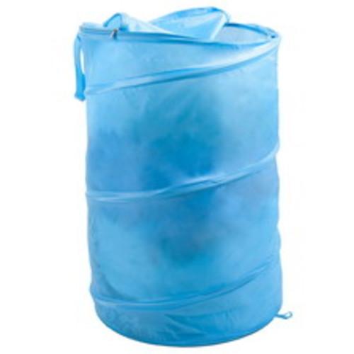 Lavish Home Breathable Pop-Up Laundry Clothes Hamper, Light Blue