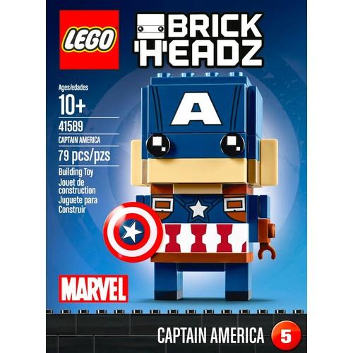 LEGO - BrickHeadz Marvel Super Heroes: Captain America