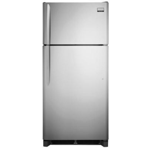 Frigidaire Gallery 18.3 cu. ft. Top Freezer Refrigerator in Smudge-Proof Stainless Steel