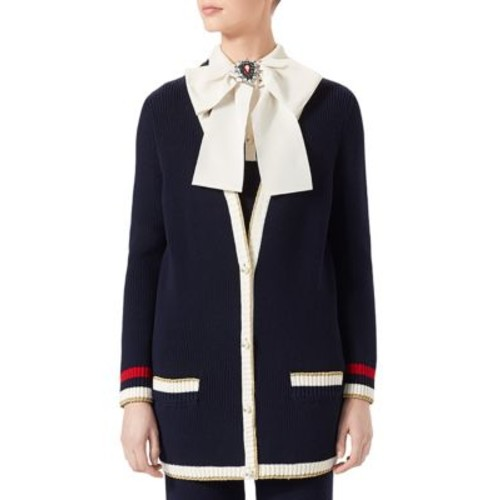 GUCCI Long Sleeve Knit Cardigan
