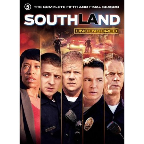 Southland:Complete fifth & final seas (DVD)