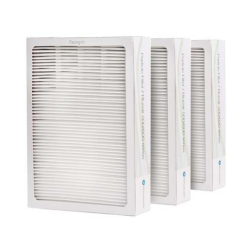 Blueair Replacement Particle Filter for Blueair 500/600 Series Air Purifiers, Pack of 3