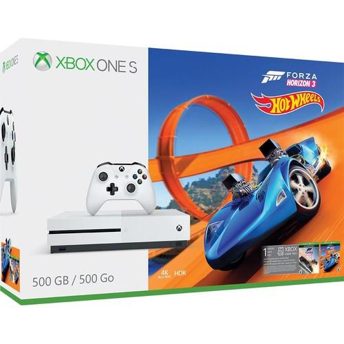 Xbox One S 500GB Console - Forza Horizon 3 Hot Wheels Bundle [S 500GB - Forza Horizon 3 Hot Wheels]