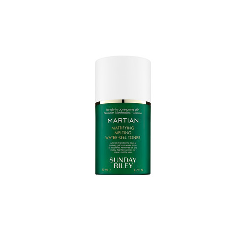Sunday Riley Travel Martian Mattifying Melting Water-Gel Toner in