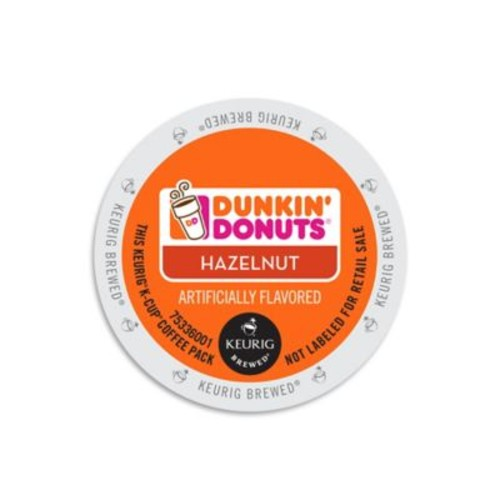 Keurig K-Cup Pack 16-Count Dunkin' Donuts Hazelnut Coffee