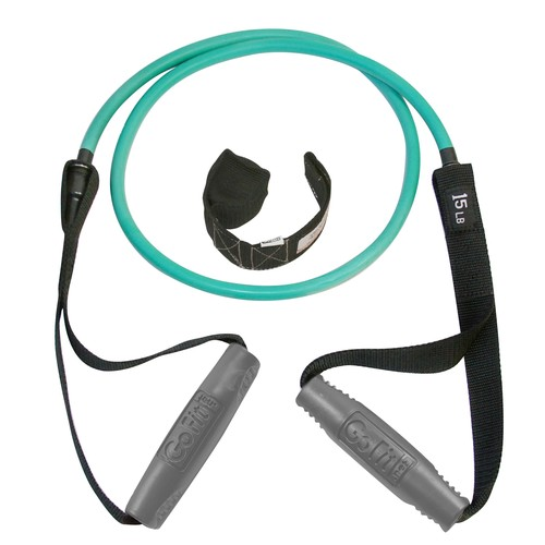 GoFit Smart Weight Power Tube, 15 lbs, Green