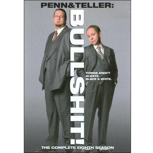Penn & Teller: Bullshit! - The Complete Eighth Season [2 Discs] [DVD]