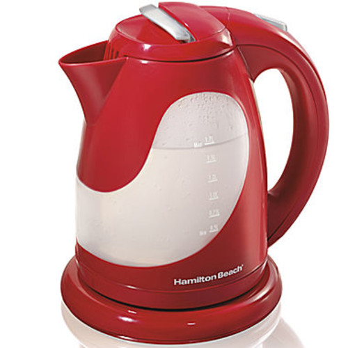 Hamilton Beach 17 Liter Red Electric Kettle
