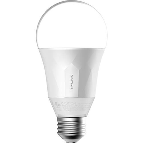 TP-LINK - LB-Series A19 Wi-Fi Smart LED bulb - White Only