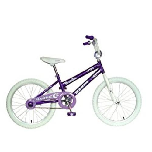 Mantis Ornata 20 Kids Bicycle [Silver/Purple, 20-Inch]