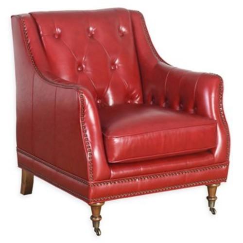 Abbyson Living Nicolas Leather Club Chair