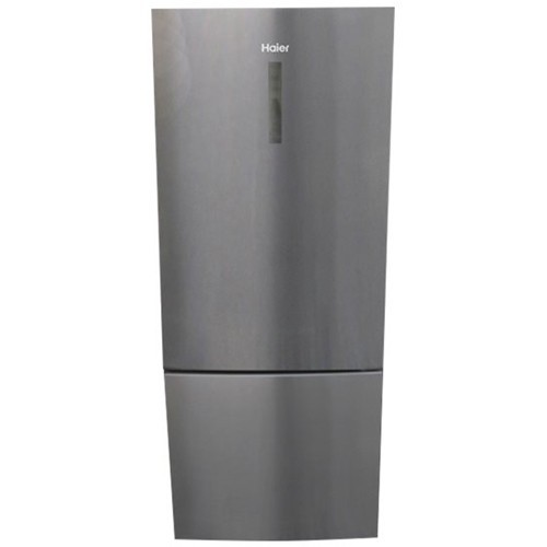 Haier - 15 Cu. Ft. Bottom-Freezer Refrigerator - Stainless steel