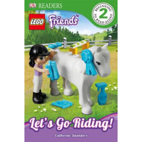 Let's Go Riding! (DK Readers: LEGO Friends)