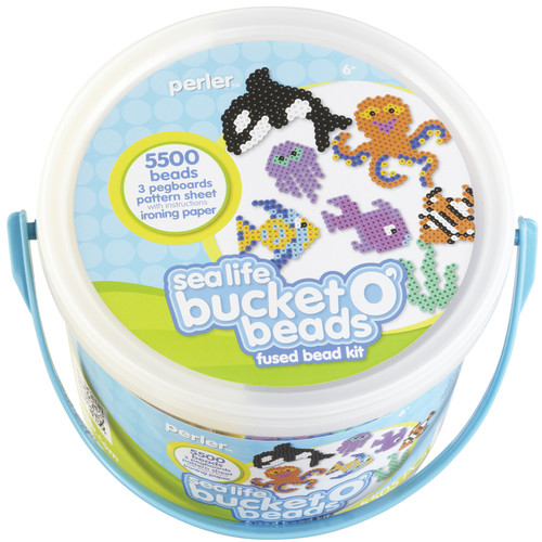 Fun Fusion Fuse Bead Activity Bucket Sea