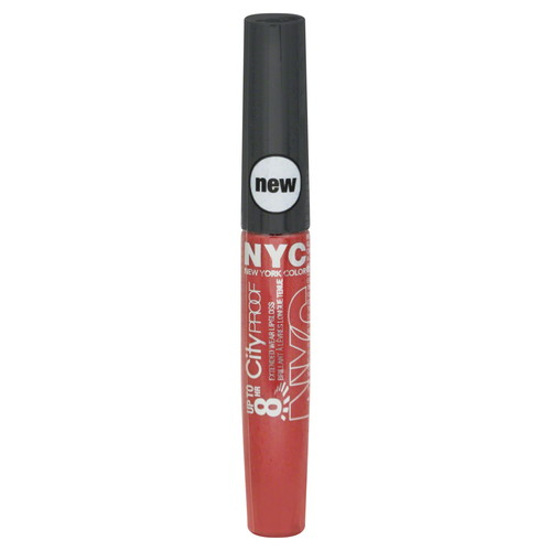 York Color 8 Hr City Proof Extended Wear Lip Gloss