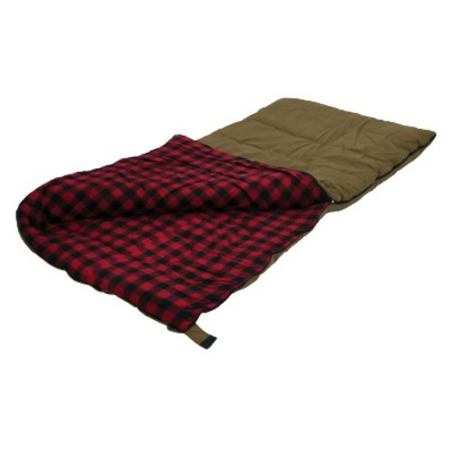 Stansport Kodiak Canvas 6 LB Rectangular Sleeping Bag - Brown