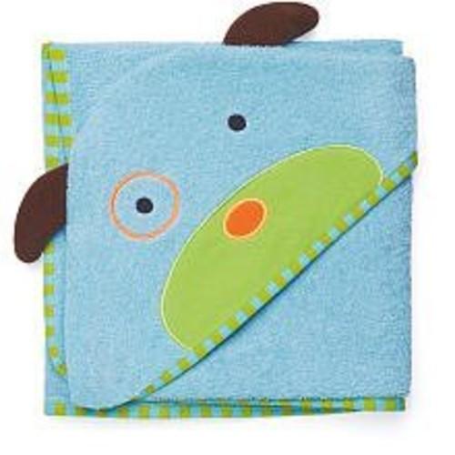 Skip Hop Zoo Hooded Towel, Darby Dog, Multi [Darby Dog]