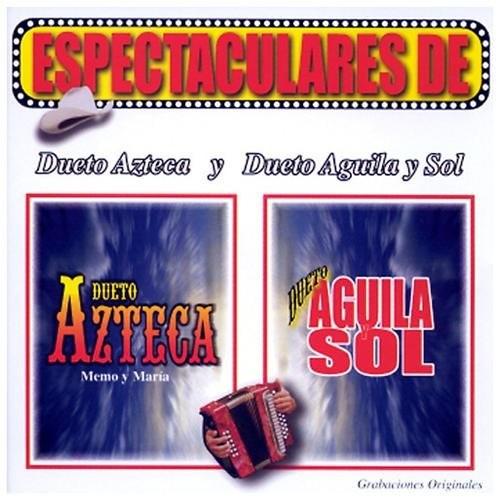 Espectulares De Dueto Azteca Y Dueto CD