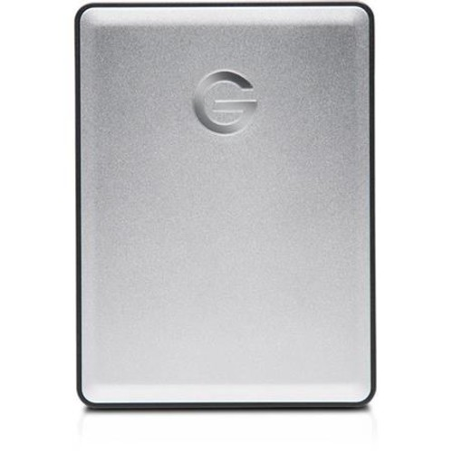 G-Technology 4TB G-DRIVE Micro-USB 3.0 Mobile Hard Drive - 5400 RPM Class, Up to 130MB/s Data Transfer Speed, Plug-and-Play - 0G06074