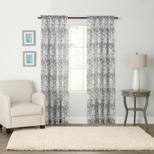 SONOMA Goods for Life Karina Light Filtering Crushed Voile Window Curtain