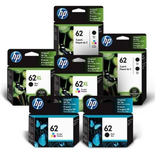 HP 62XL Tri-color Ink Cartridge - Multicolor (C2P07AN#140)