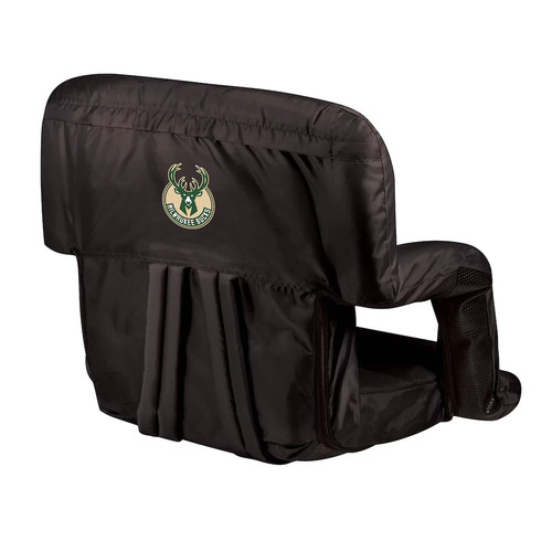 Picnic Time Milwaukee Bucks Ventura Portable Reclining Seat