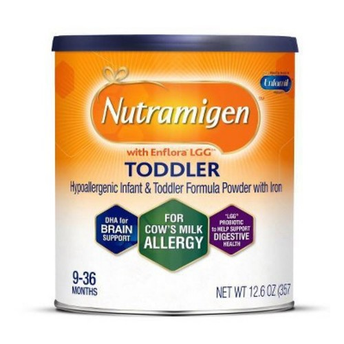 Enfamil Nutramigen Hypoallergenic Infant & Toddler Powder Formula with Iron - 12.6 Ounces