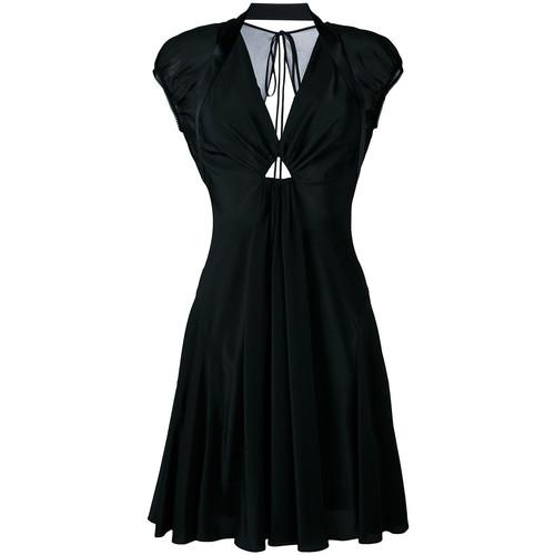 ALEXANDER WANG Deep V-Neck Dress