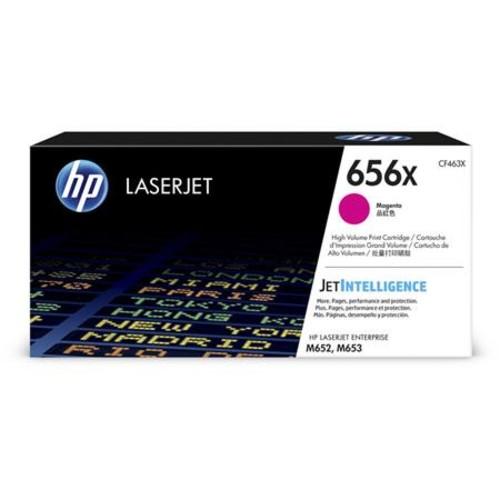 HP 656X High Yield Magenta Laser Toner Cartridge for LaserJet Enterprise Printer