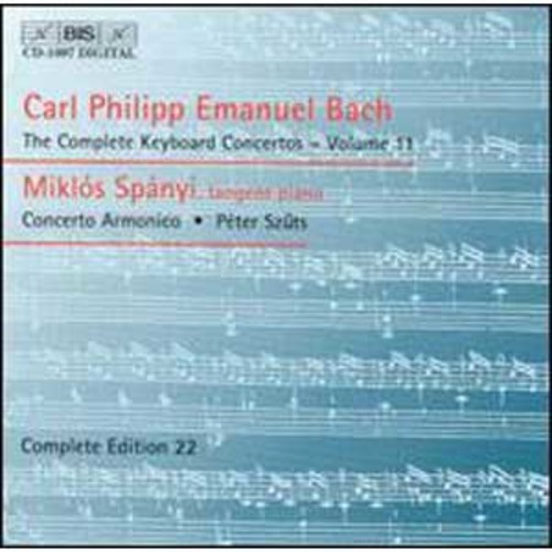 C.P.E. Bach: The Complete Keyboard Concertos, Vol. 11 By Mikls Spnyi (Audio CD)