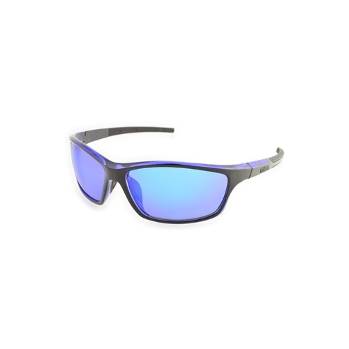 Ironman Fortitude RV Sunglasses 10218090.QTS, Frame Color: Tetra Blue, Photochromic: No, Lens Color: Smoke with Blue RV Mirror,