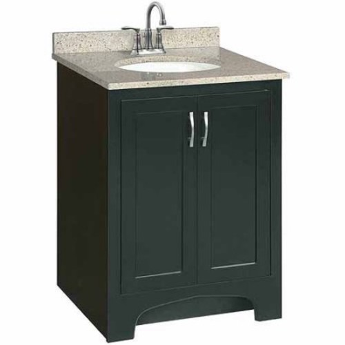 Design House Ventura 24 in. W x 21 in. D Two Door Unassembled Vanity Cabinet Only in Espresso