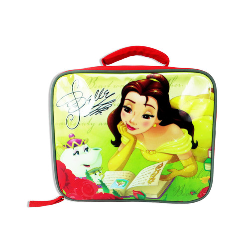 Disney Princess Belle Mrs. Potts and Chip Rectangular Insulated Lunch Bag