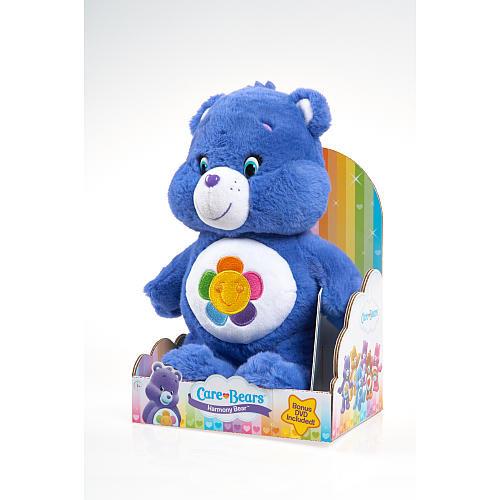 Care Bear Medium Plush with DVD - Harmony Bear