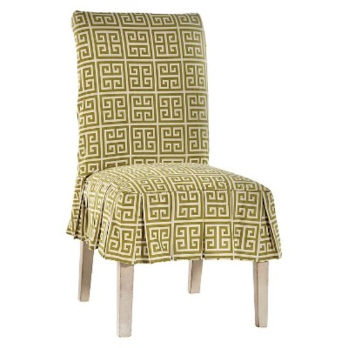 Roman Key Dining Chair Slipcover
