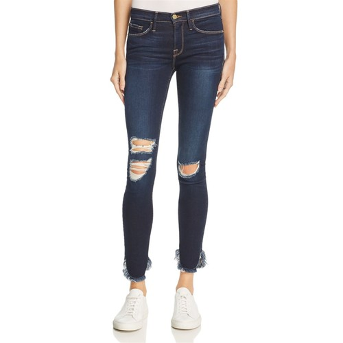 FRAME Le Skinny Jeans In Andover – 100% Exclusive