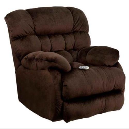 Flash Furniture Massaging Columbia Microfiber Rocker Recliner with Heat Control