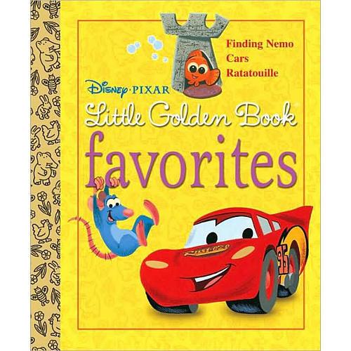 Disney Pixar's Little Golden Book Favorites