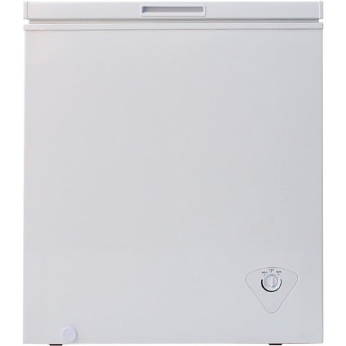 Midea - 5 Cu. Ft. Chest Freezer - White