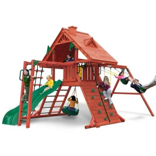 Gorilla Playsets Sun Palace II Swing Set