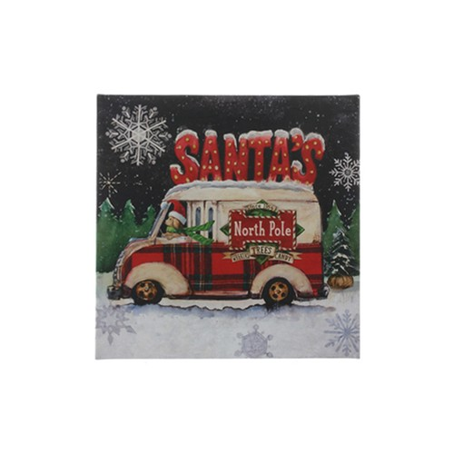 Santa's Helper Wall Art