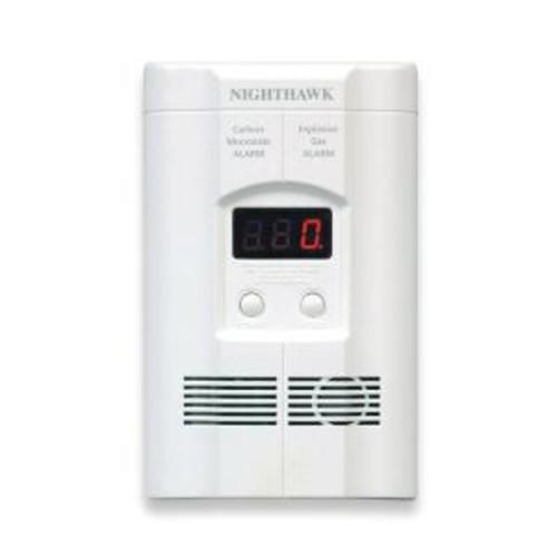 Kidde Plug-In Combination Explosive Gas/Carbon Monoxide Alarm Detector with Battery Back-up