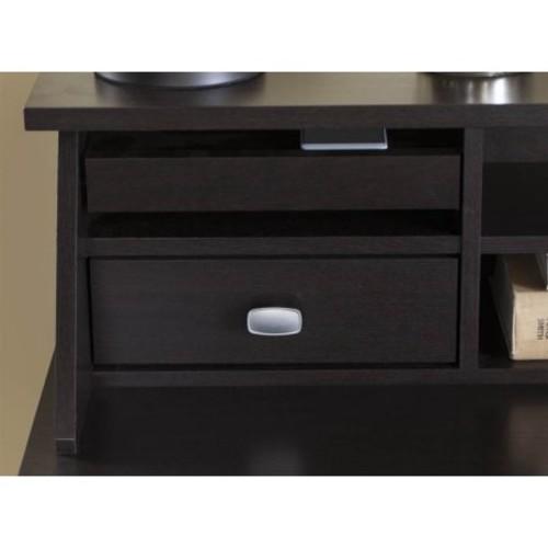 Bush Broadview Desktop Organizer in Espresso Oak