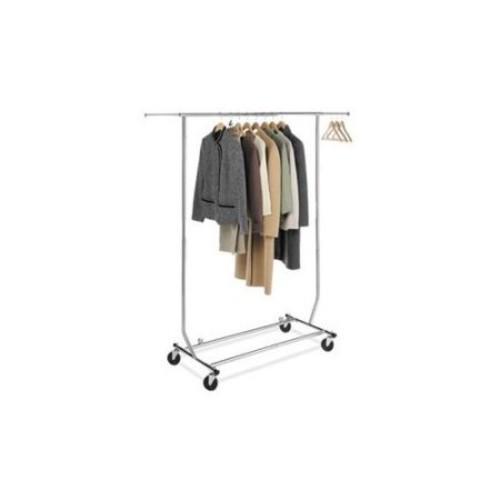 Whitmor Commercial Garment Rack Rollin