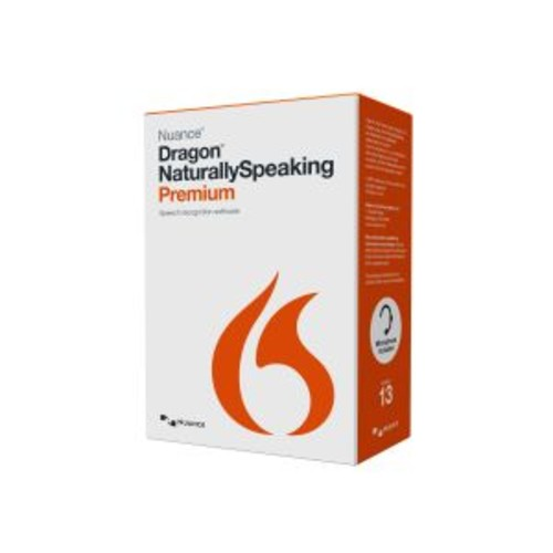 Dragon NaturallySpeaking Premium - ( v. 13 ) - box pack - 2 users - DVD - Win - English - United States