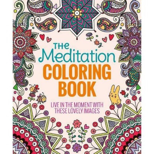 The Meditation Coloring Book (Paperback)
