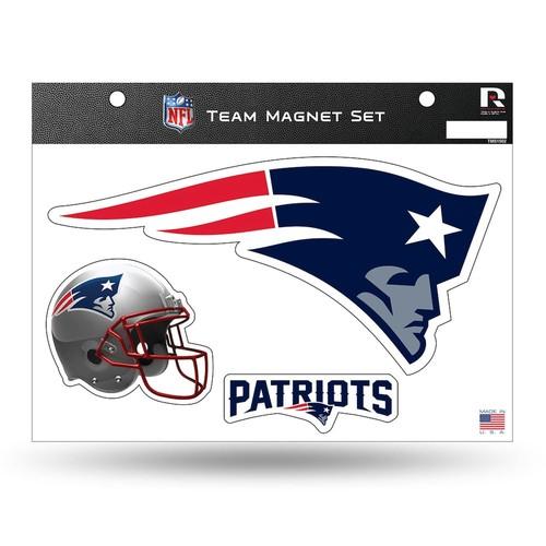 England Patriots Team Magnet Set