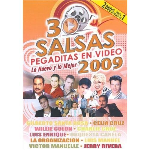 30 Salsas Pegaditas en Video: Lo Nuevo y lo Mejor 2009 [DVD]
